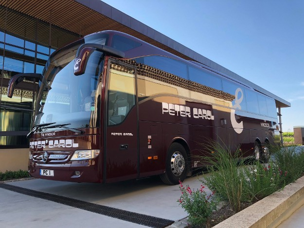 Contemporary Luxury Coach Hire